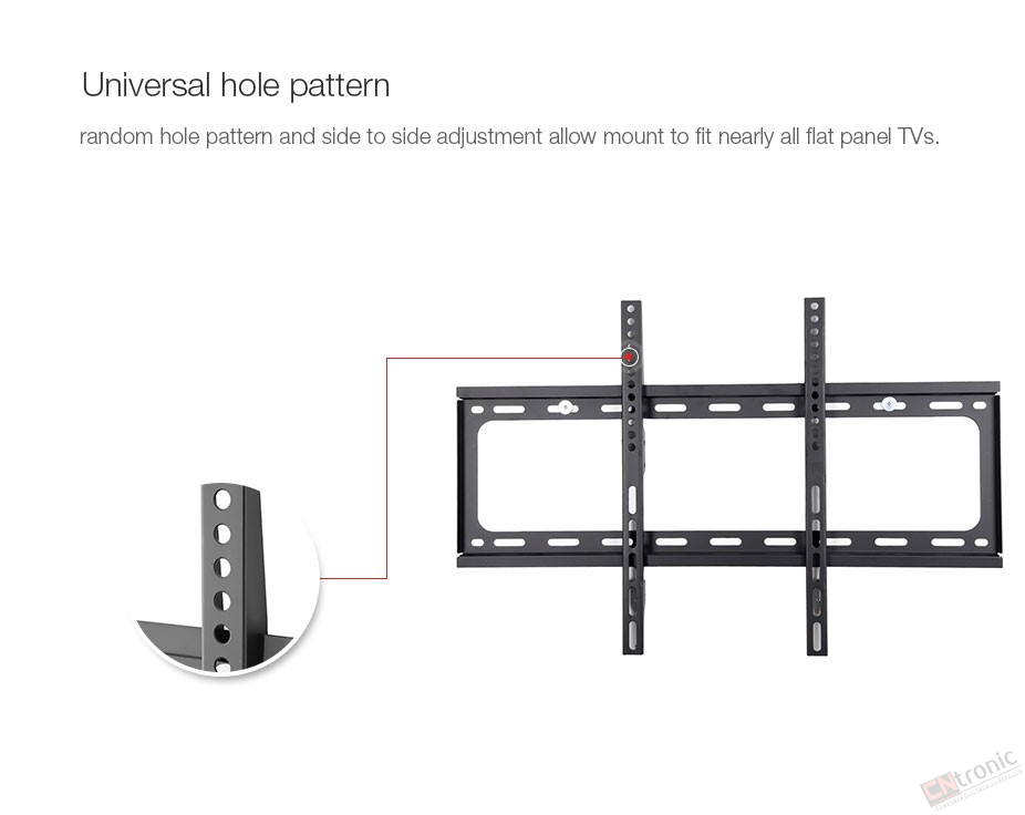 general ultra slim plasma tilted and fixed monitor lcd led hd tv wall mount bracket fit for 26
