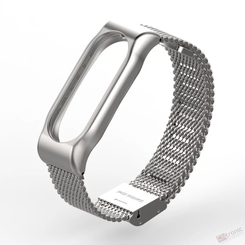 Metal Strap For Xiaomi Mi Band 2 Screwless Stainless Steel Bracelet For Miband 2 Wristbands
