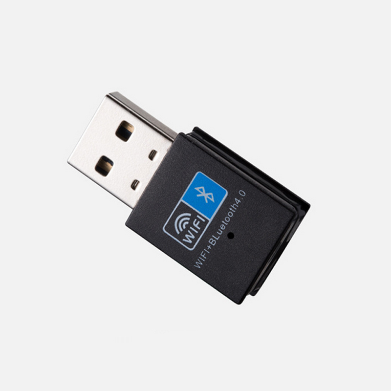 Mini Wireless USB Adapter 150Mbps WiFi Bluetooth 4.0 2 In 1 Receiver For PC