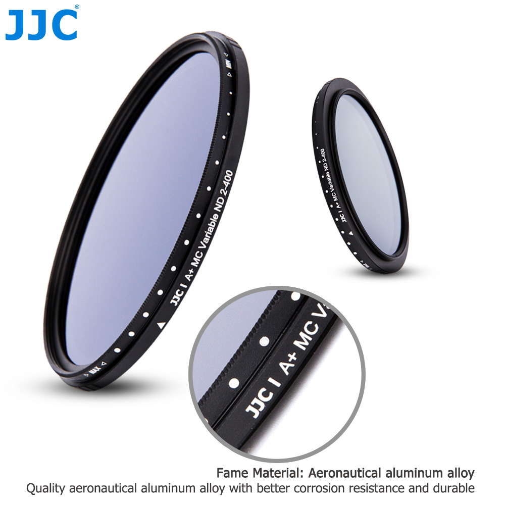 Jjc Adjustable Variable Neutral Density Nd2 To Nd400 Filter 405 43 Nd Slim Fader 2 400 67mm 67 Mm Fotga Lens Filters Aeproductgetsubject Aeproduct