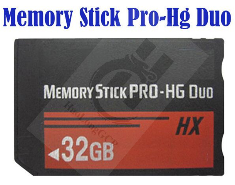 free shipping For Sony PSP memory cards 2GB 4GB 8GB16GB 32GB Memory Stick Pro Duo Memory Cards for Sony Tablet Camera