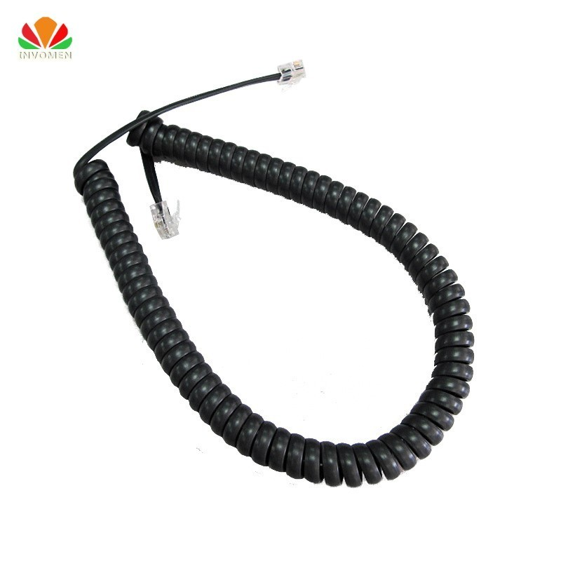 Long Type Telephone Cord Pure Copper Wire Phone Volume