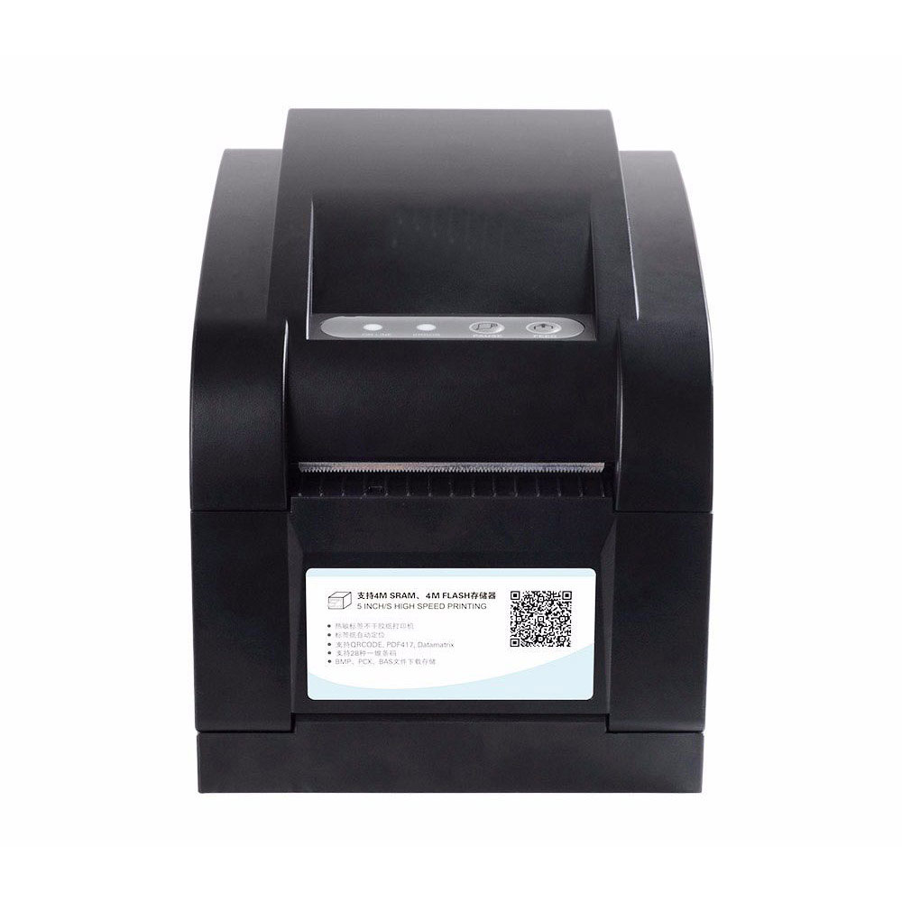High quality thermal barcode label printer sticker printer thermal printer can print qr code do not