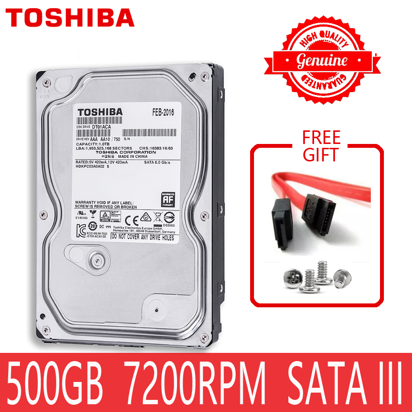 500GB 500G Internal Hard Drive Disk 500 GB SATA 3 3.5