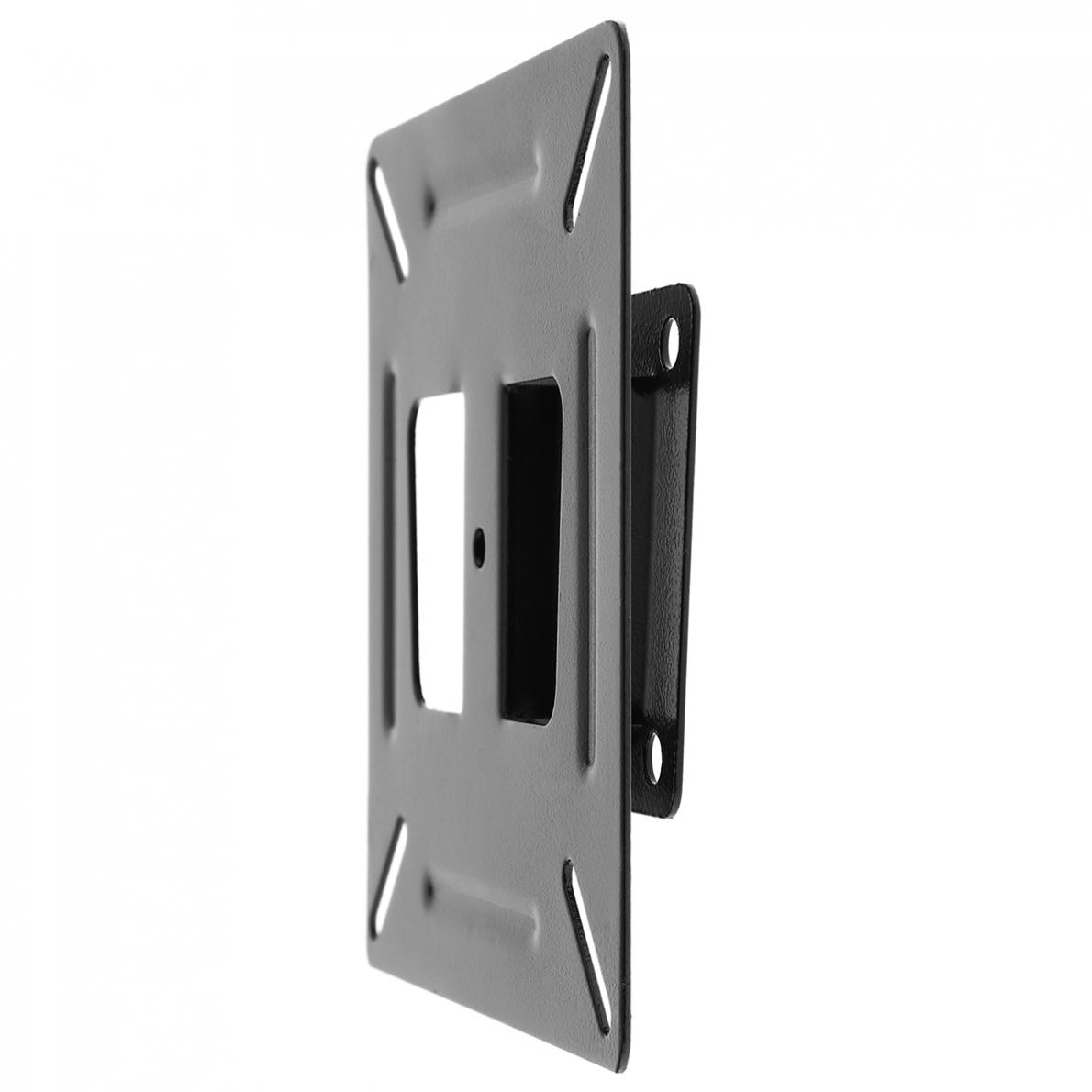 Universal Black Tv Wall Mount Bracket For 14 24 Inch Lcd
