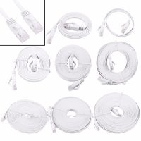 0.5/1/2/3/5/8/10/15m Ethernet Cable High Speed RJ45 CAT6 Flat Ethernet Network LAN Cable UTP Patch Router Computer Cables Hot